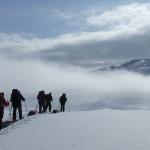 hardangervidda sneeuwwandelen