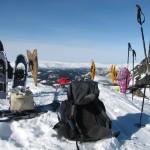 Sneeuwwandelen in Noorwegen
