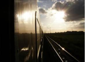 Reisverslagen Polen, trein heenweg