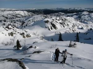 Sneeuwschoenlopen Rauland Noorwegen