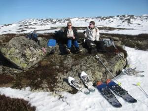 Sneeuwschoenlopen in het Silkedalen