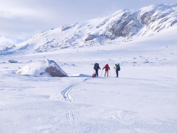Hardangervidda, grootste hoogvlakte van Europa, maar vlak .....